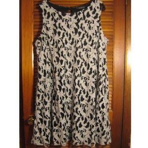 NWT Lane Bryant 22/24 Lace Swing Dress